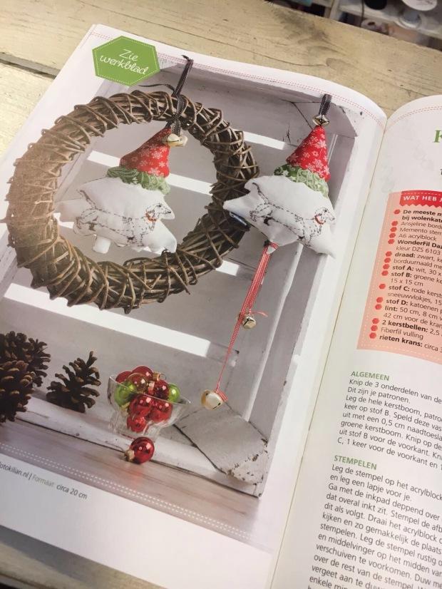 Kerstboom met teckel