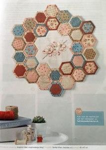 jubileumquilt romantische hexagon